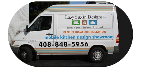Lazy Suzan Designs - Mobile Showroom